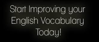 improve your english vocabulary