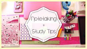 note taking tips in ielts