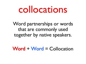 what is collocation