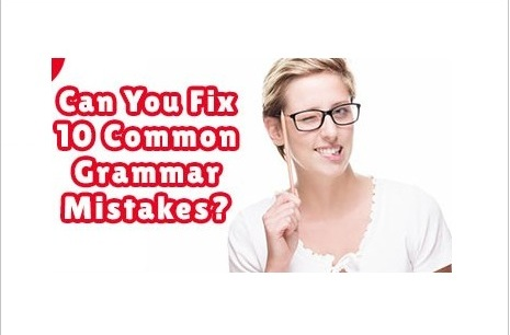 common grammar mistakes in ielts