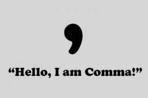 use of comma