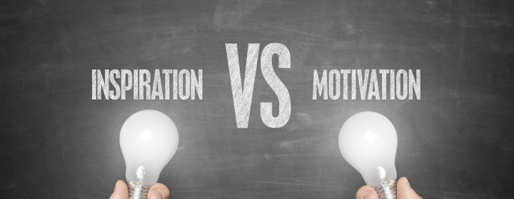 difference between motivation and inspiration