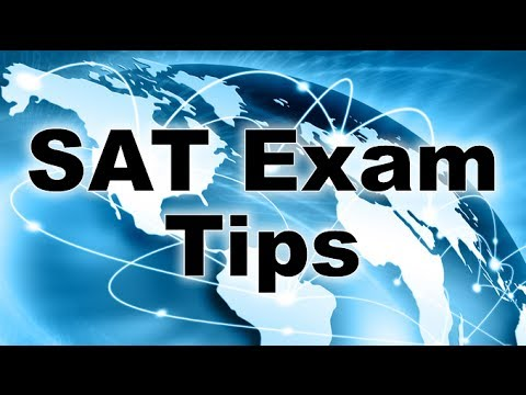 SAT exam tips